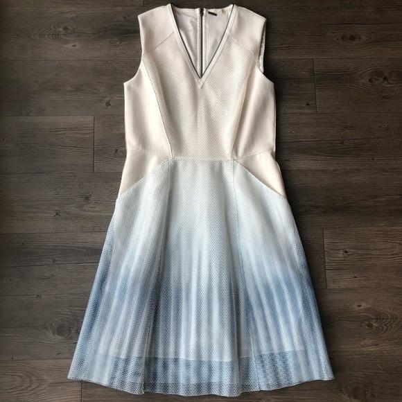 Elie Tahari Dresses & Skirts - Elie Tahari | Blue Kemper Ombre Mesh Dress